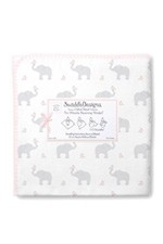 Swaddle Designs Ultimate Receiving Blanket - Elephants & Chickies by SwaddleDesigns