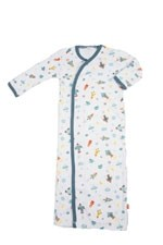 Magnificent Baby Boy Gown (Rockets) by Magnificent Baby
