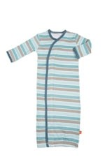 Magnificent Baby Boy Gown (Stripes) by Magnificent Baby