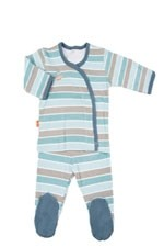Magnificent Baby Boy Kimono Set (Stripes) by Magnificent Baby