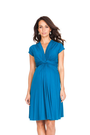 Seraphine Jolene Short Sleeve Maternity Dress (Seaside) by Seraphine