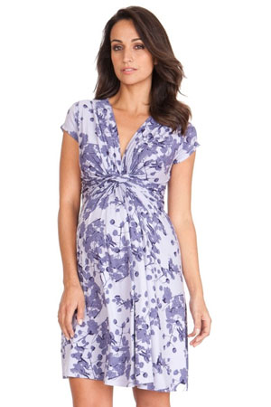 Seraphine Blossom Short Sleeve Maternity Dress by Seraphine