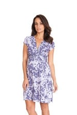 Seraphine Blossom Short Sleeve Maternity Dress (Blossom Print) by Seraphine