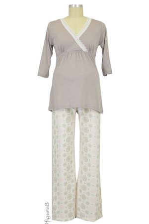 Belabumbum Starlit Nursing Tunic and Pant Set by Belabumbum