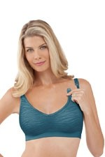 Signature Bravado Body Silk Seamless Nursing Bra (Jungle Teal) by Bravado