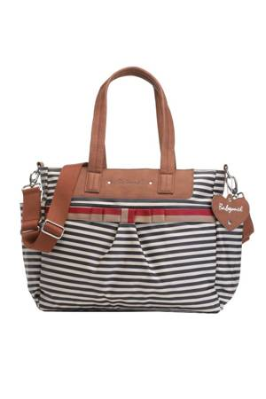 Babymel Cara Diaper Bag (Navy Stripes) by Babymel