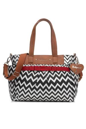 Babymel Cara Diaper Bag (Black Zig Zag) by Babymel