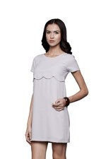 Blossom Nursing Dress (Grey) by Dote