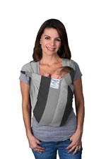 Baby K'Tan Baby Carrier- Print (Nifty Shades of Grey) by Baby K'tan