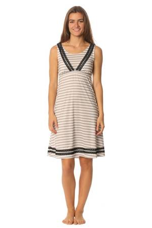 Majamas Celia Nursing Dress (Boardwalk) by Majamas