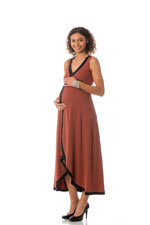 Majamas Dream Nursing Dress (Picante) by Majamas
