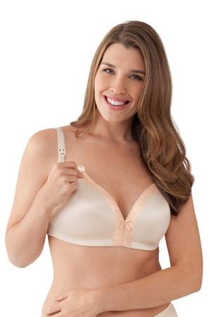 Bravado Bliss Lace Nursing Bra (Chai) by Bravado