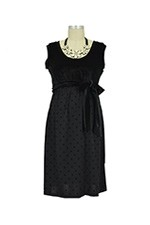 Little Black Nursing Dress (Black) by Japanese Weekend