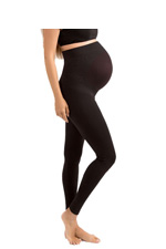Blanqi High Performance Belly Lift and Support Maternity Leggings (Black) by Blanqi