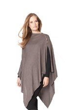 Seraphine Madison Bamboo Nursing Shawl (Brown) by Seraphine
