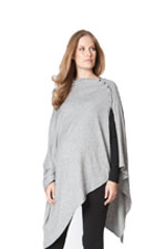 Seraphine Madison Bamboo Nursing Shawl (Grey) by Seraphine