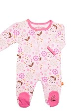 Magnificent Baby Girl's Footie (Mod Floral) by Magnificent Baby