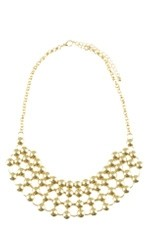 Sabrina Dot Necklace (Gold) by Jewelry Accessories