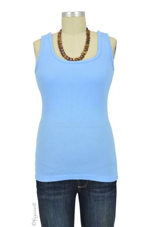Bun Ultimate Easy Cotton Nursing Tank (Baby Blue) by Bun Maternity & Nursing