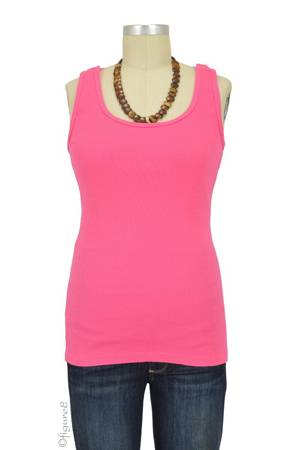 Bun Ultimate Easy Cotton Nursing Tank (Pink) by Bun Maternity & Nursing