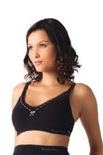 Cache Coeur Illusion Seamless Nursing Bra (Black) by Cache Coeur Lingerie