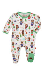 Magnificent Baby Boy's Footie (Hipster Bear Band) by Magnificent Baby