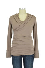 Majamas Belinda Nursing Top (Mocha) by Majamas