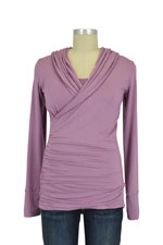 Majamas Belinda Nursing Hoodie (Woodrose) by Majamas