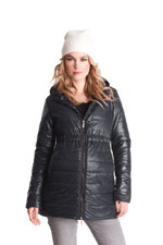 Aspen Maternity Jacket (Black) by Seraphine
