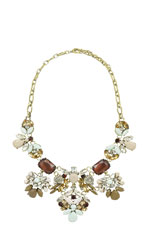 Elizabeth Floral Necklace (Floral) by Jewelry Accessories