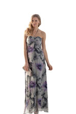 Kristen Silk Printed Luxe Maternity Maxi Dress (Floral Print) by Seraphine