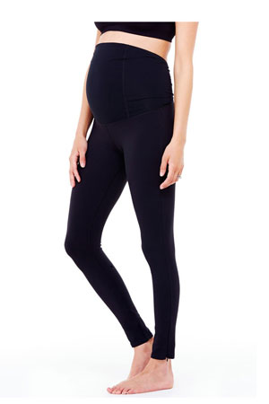 Ingrid & Isabel Active Legging with Crossover Panel by Ingrid & Isabel