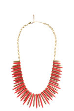Amanda Necklace (Red) by Jewelry Accessories