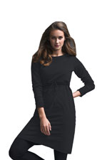 Boob B-Warmer Organic Nursing Dress (Black) by Boob