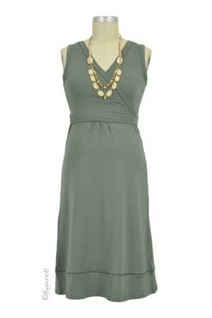 Boob Design Juno Nursing Dress (Khaki) by Boob Design