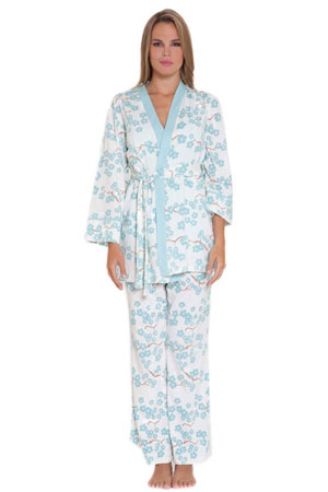 Olian Mackenna 4-pc. Nursing PJ Set with Baby Outfit and Gift Box by Olian