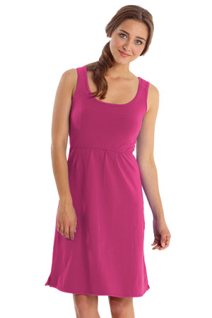 c1cb8b364d9df Avery Organic Cotton Scoop Neck Nursing Dress (Honeysuckle) by Mothers en  Vogue