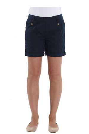 Addie Cotton Cargo Maternity Shorts by Mothers en Vogue