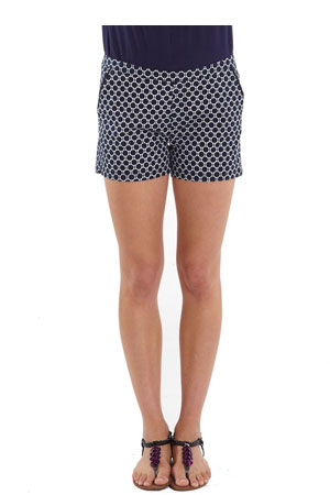 Lucy Printed Maternity Shorts by Mothers en Vogue