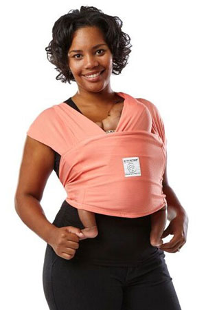 Baby K'tan Active Baby Carrier (Coral) by Baby K'tan