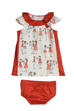 The Jane Baby Dress by Shirley & Victor (Schoolyard) by Shirley and Victor, Baby by Majamas
