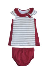 The Jane Baby Dress by Shirley & Victor (Boardwalk) by Shirley and Victor, Baby by Majamas