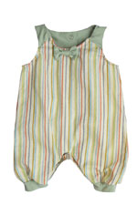 The Peggie Baby Onesie by Shirley & Victor (Turkish Taffy) by Shirley and Victor, Baby by Majamas