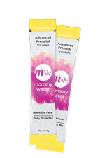Mommy Water™ Prenatal Vitamin Daily Drink Stick Packs (Lemon Zest) by Mommy Water
