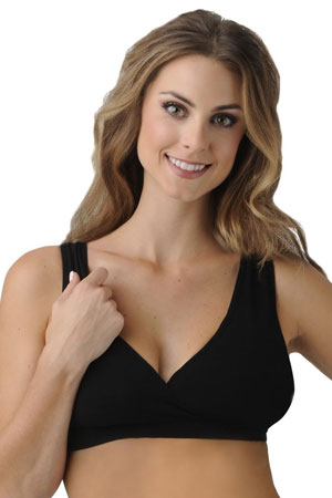 BDA Nursing Bra by Belly Bandit (Black) by Belly Bandit