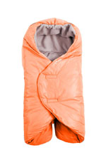 7 AM Enfant Nido Quilted Car-seat Baby Wrap - Small (Orange Peel) by 7 A.M. Enfant