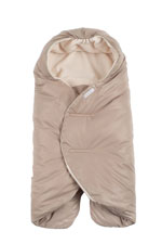 7 AM Enfant Nido Quilted Car-seat Baby Wrap - Small (Beige) by 7 A.M. Enfant