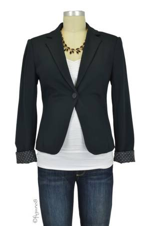 Alex Maternity Blazer (Black) by Noppies
