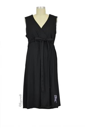 The Nightie-Night BG Birthinggown (with Pockets) (Black) by B&G Birthingown