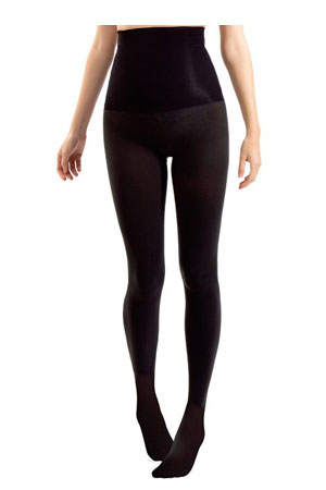 Blanqi High Waist Tummy Support Band Tight (70 Denier) (Black) by Blanqi